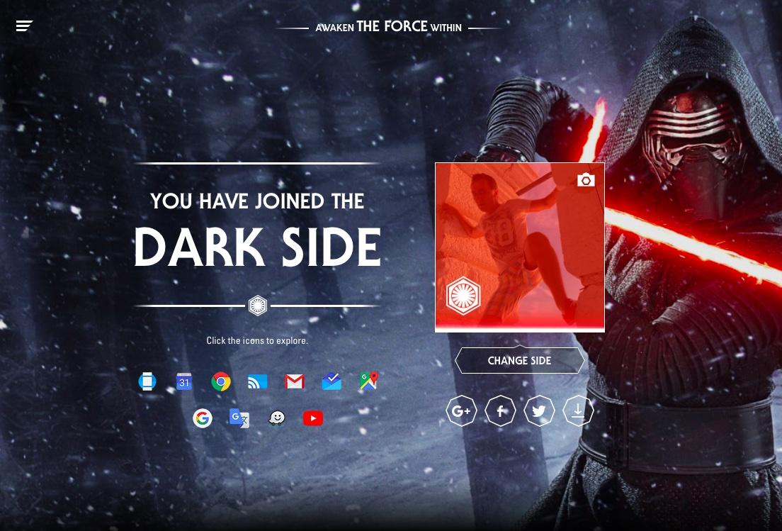 Google Star Wars promotion image 002