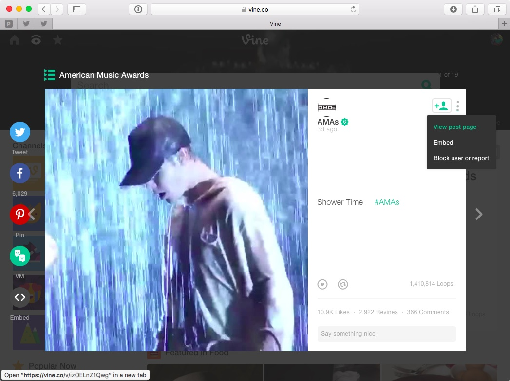 How to save Vine videos Mac screenshot 001