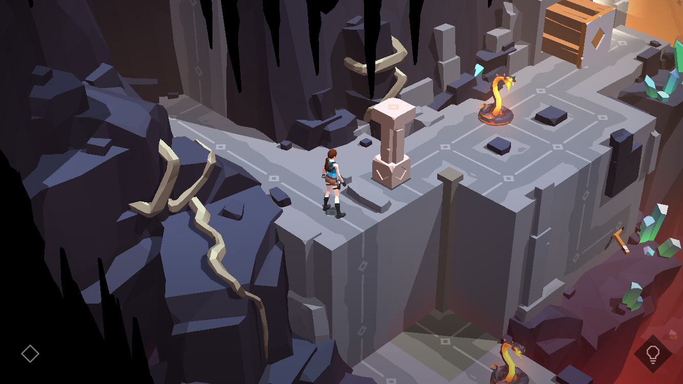 Lara Croft GO Shard of Life expansión iPhone captura de pantalla 002