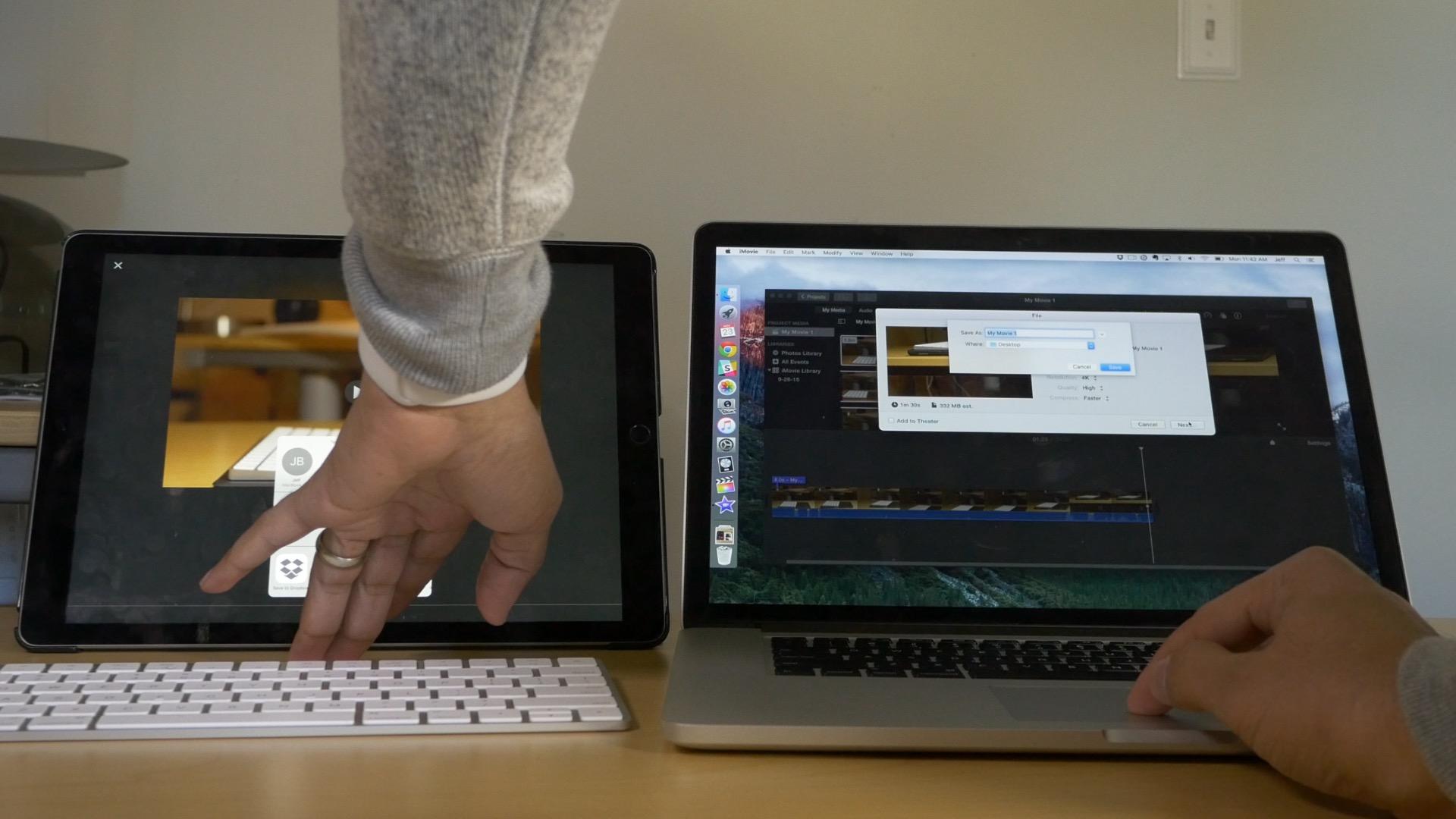 Macbook Pro vs iPad Pro