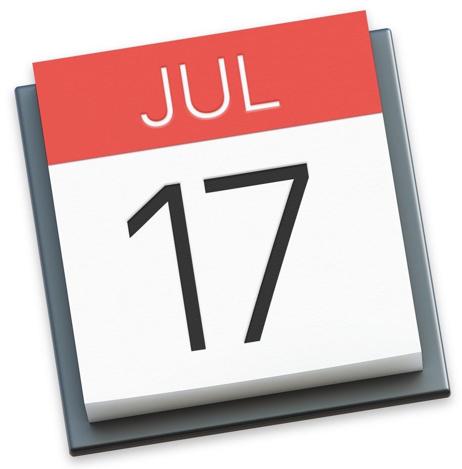 OS X El Capitan Calendar app icon full size