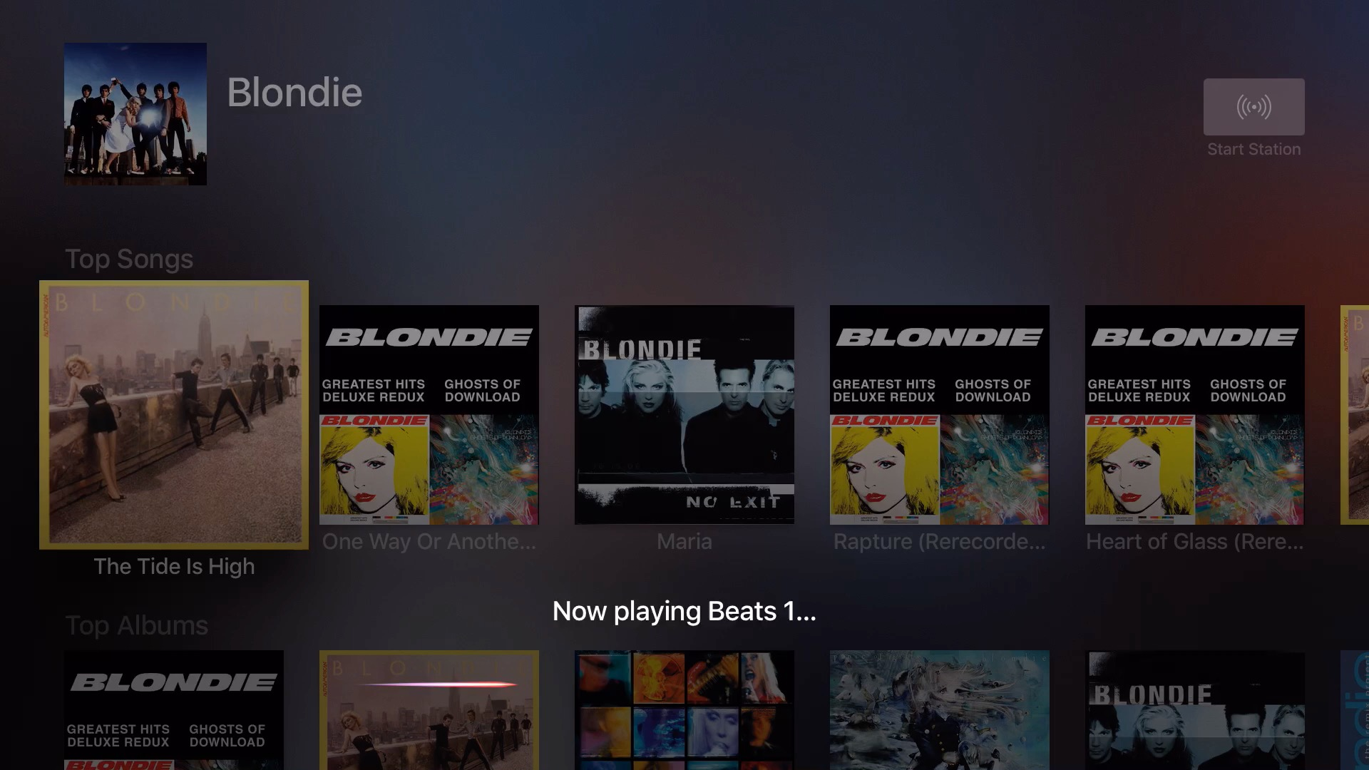 Play Beats 1 Siri Apple TV
