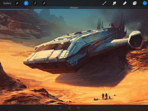Procreate 3.0 for iOS iPad screenshot 001