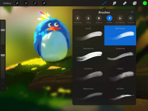 Procreate 3.0 for iOS iPad screenshot 002