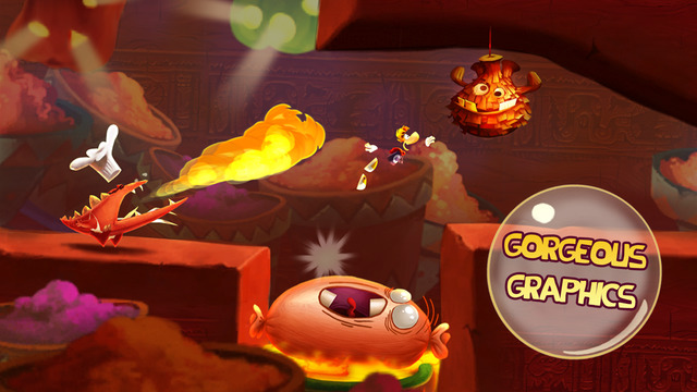 Rayman Fiesta Run 1.5.2 for iOS iPhone screenshot 001