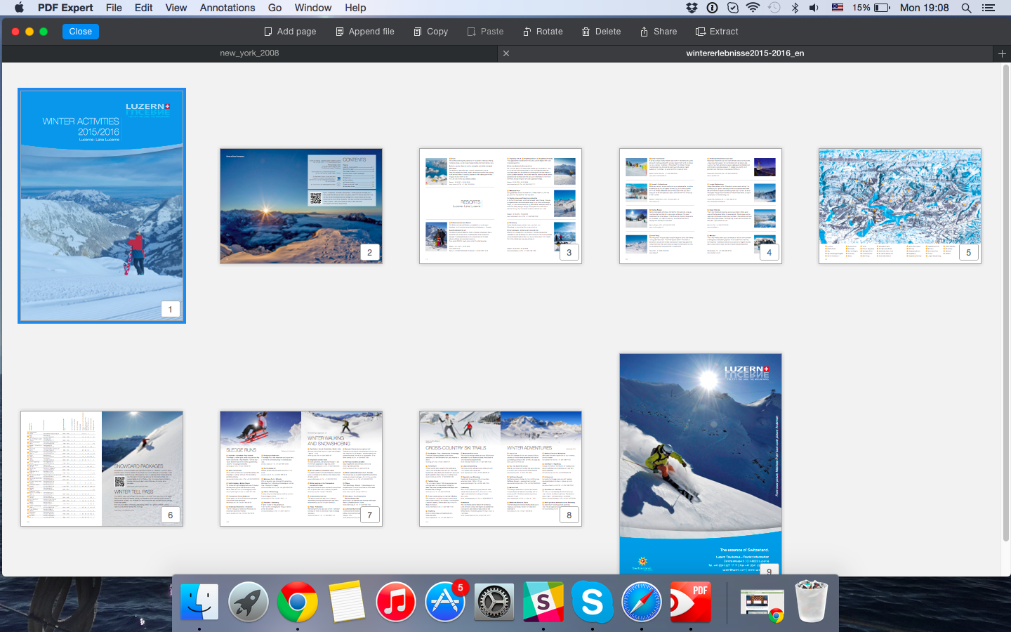 Captura de pantalla 007 de Readdle PDF Expert para OS X Mac