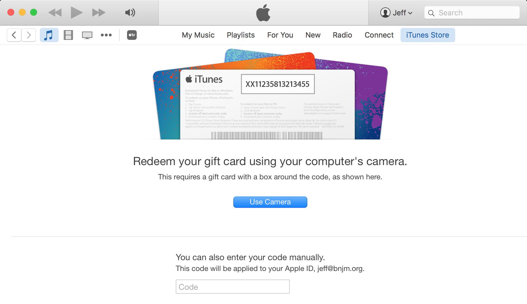 Redeem Apple TV Promo code Mac