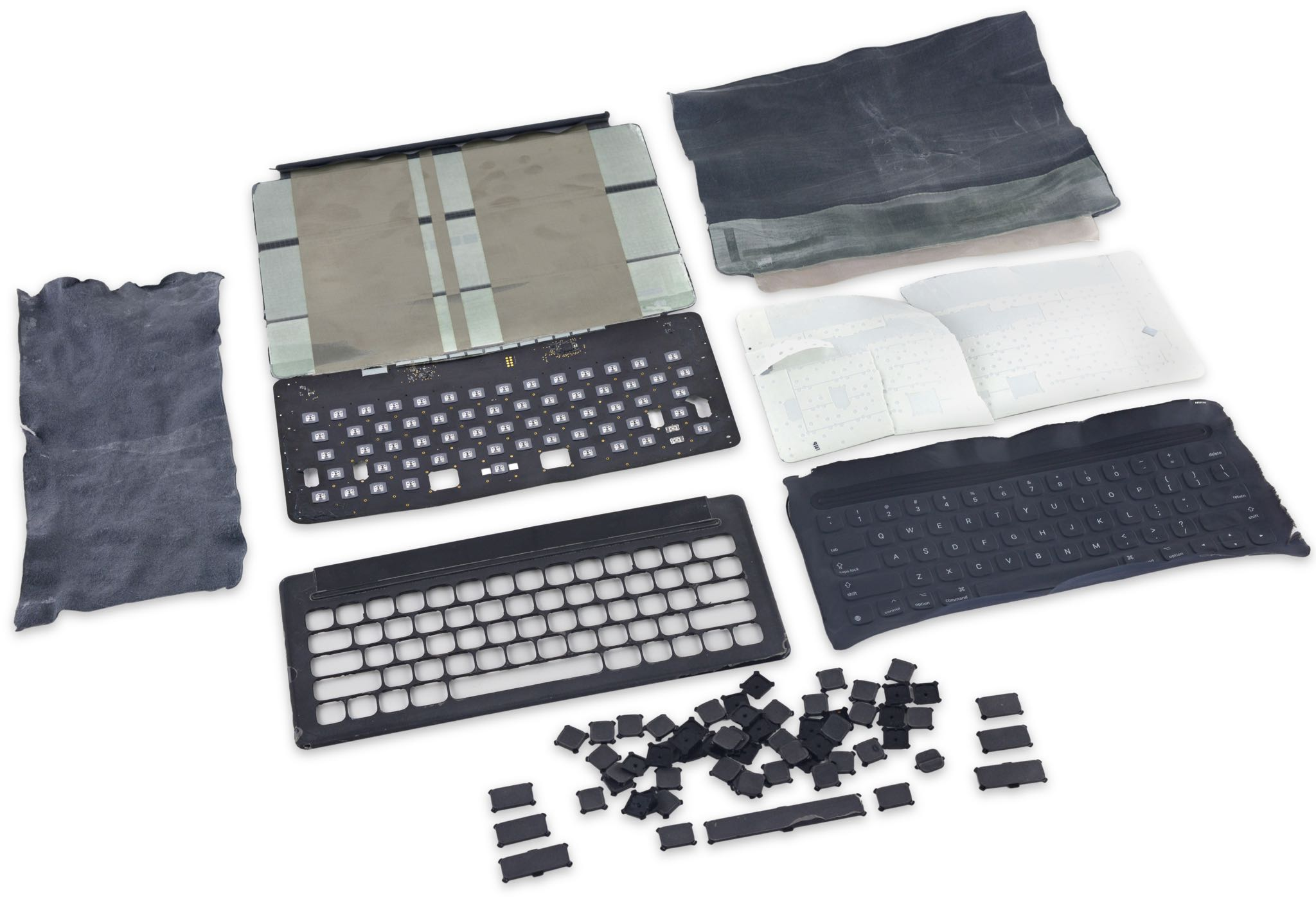 Smart Keyboard iFixit teardown 003