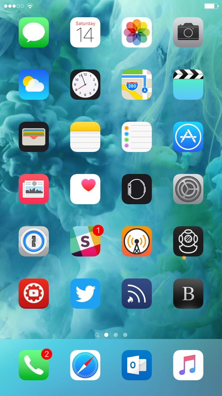 Springtomize 3 iOS 9 Springboard
