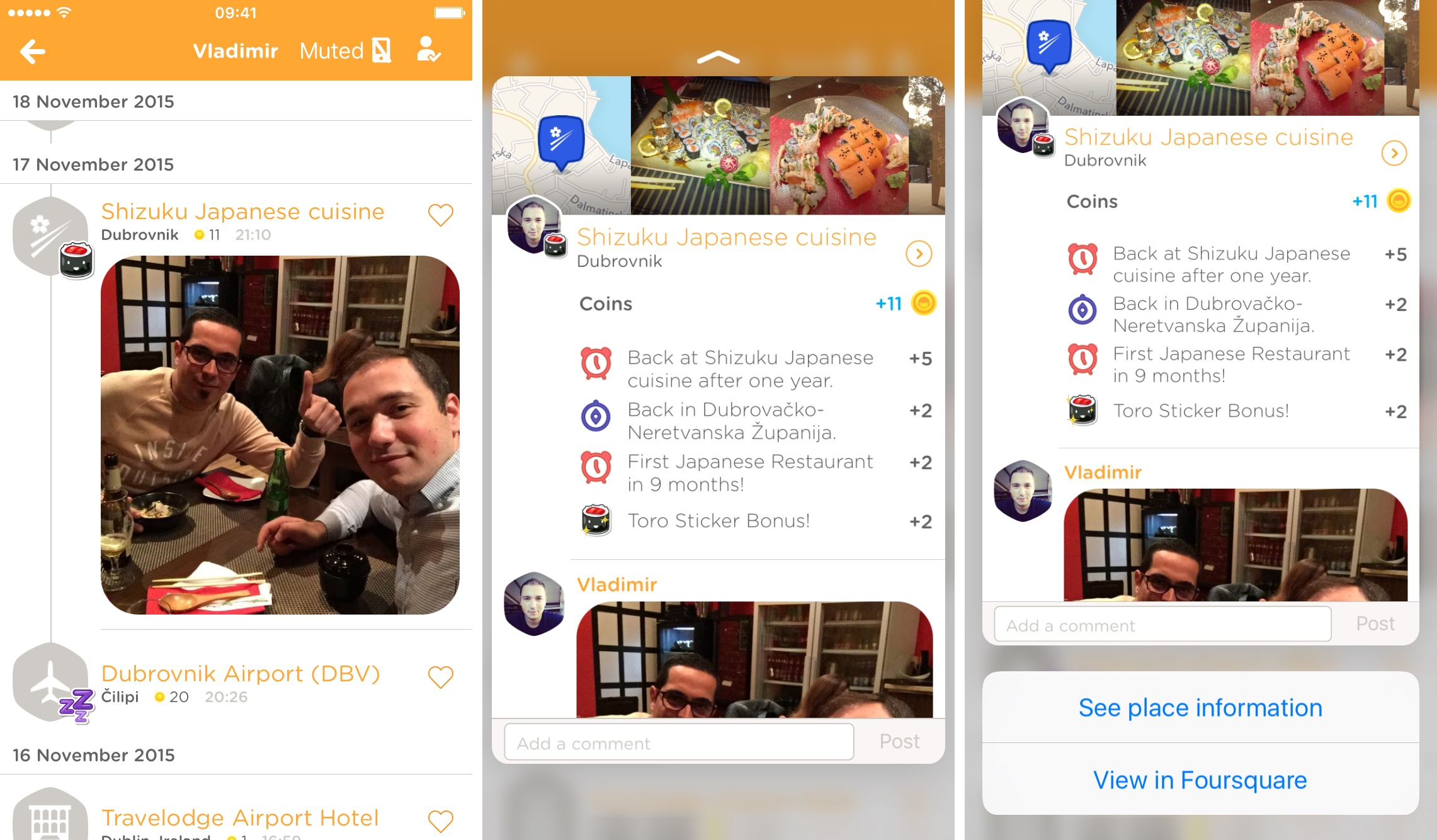 Swarm 3.4.1 for iOS iPhone screenshot 001
