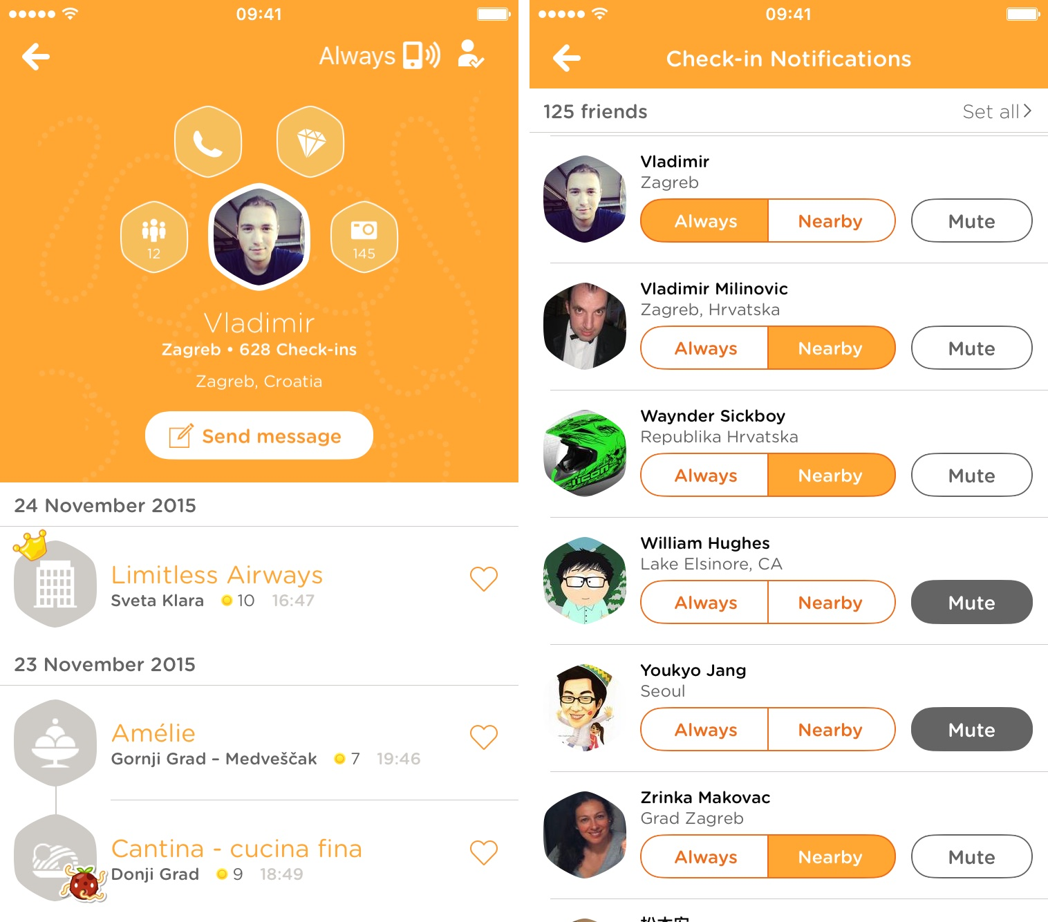 Swarm 3.4.1 for iOS iPhone screenshot 002
