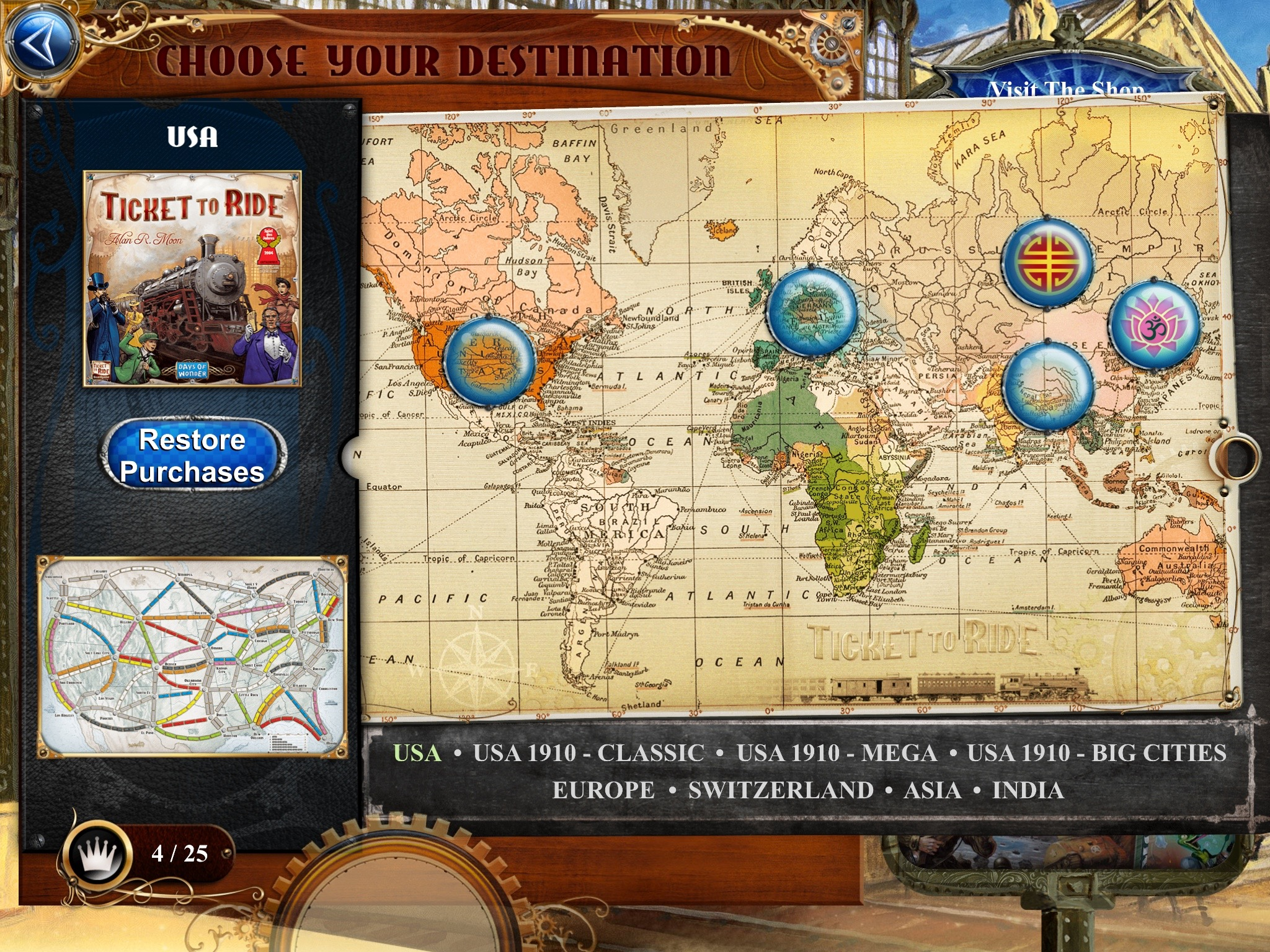 Ticket To Ride Play Online Free
