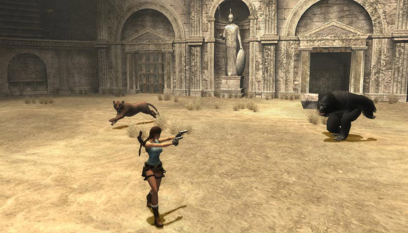 Tomb Raider Anniversary for OS X Mac screenshot 007