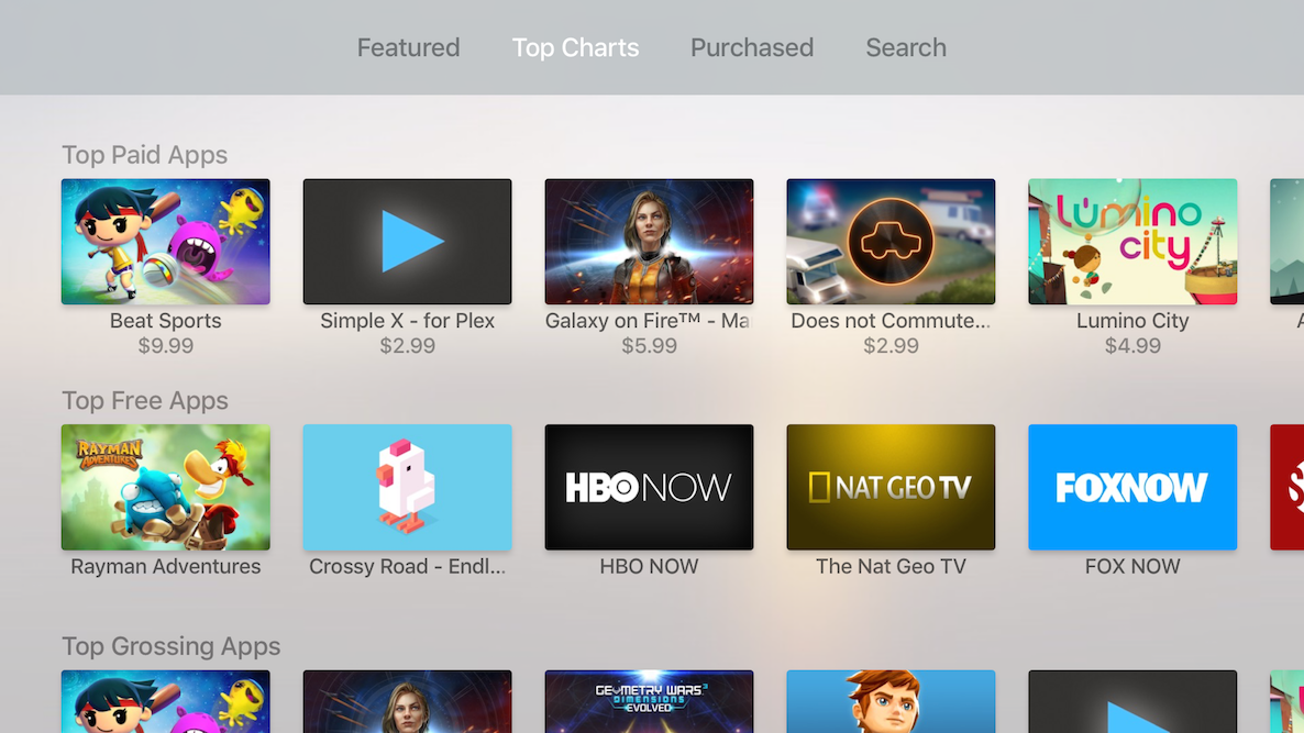 Top Apps Apple TV