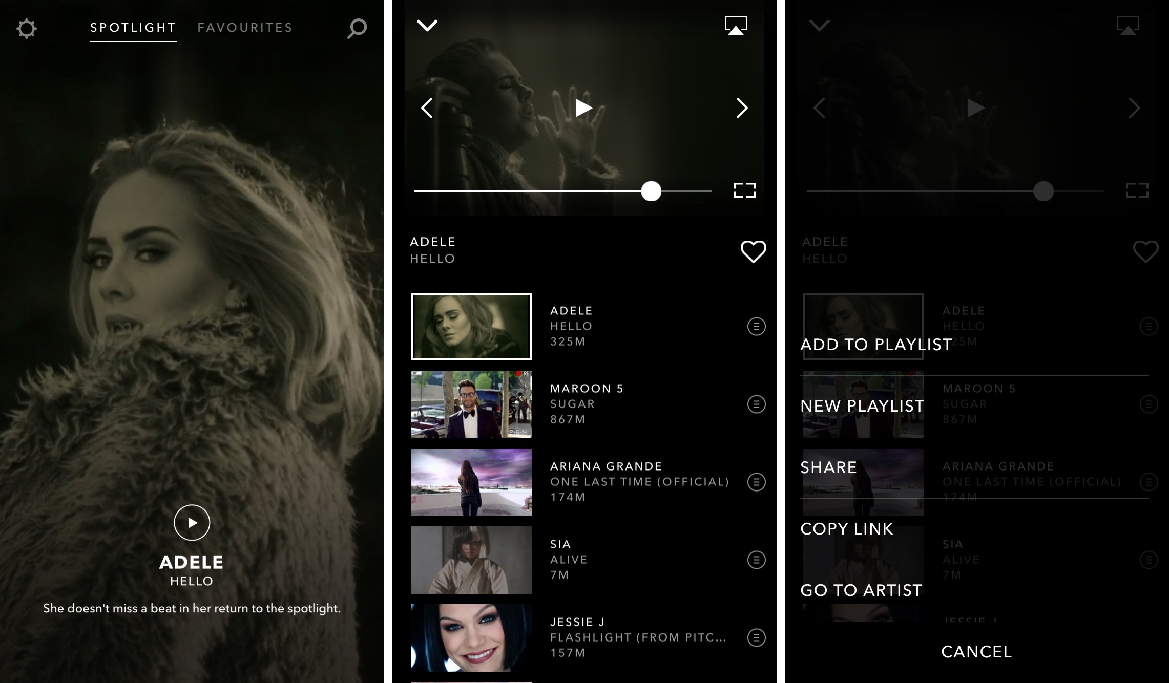 Vevo 5.0 for iOS iPhone screenshot 005