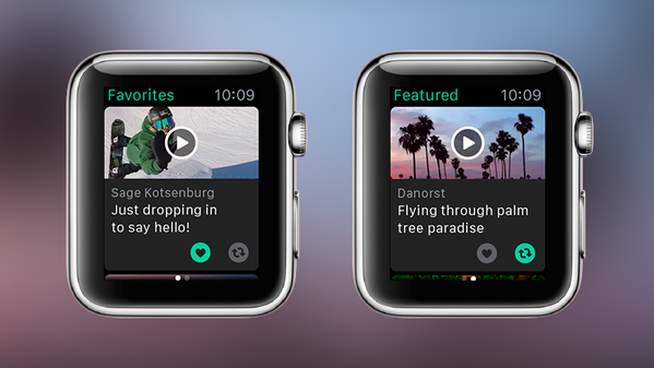 Vine for Apple Watch screenshot 001