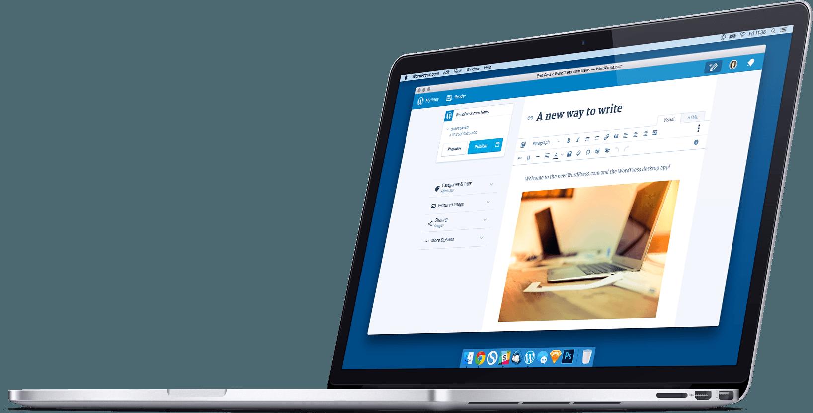 WordPress para OS X 1.0 teaser 001