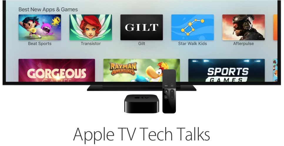 tecnología de apple tv