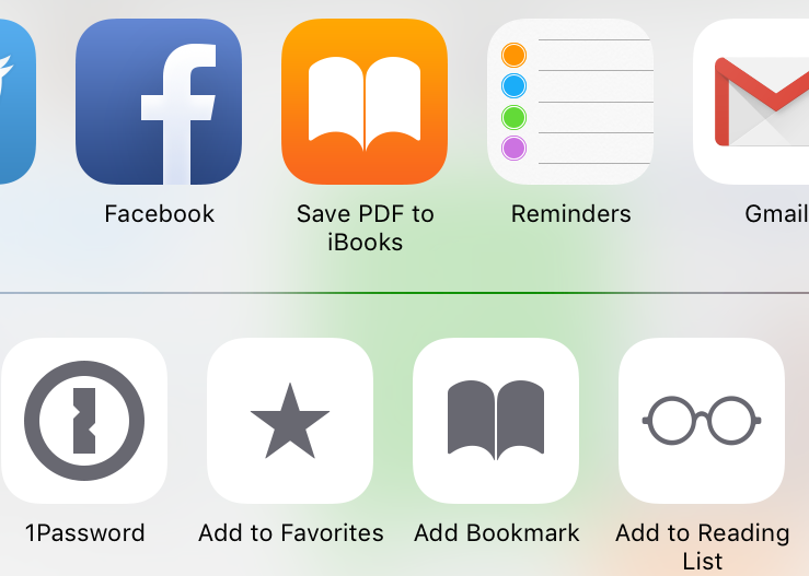 iOS 9 Save as PDF iPhone screenshot 003