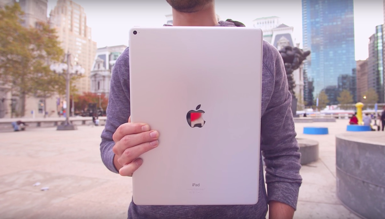 iPad Pro in hand Jonathan Morrison image 001