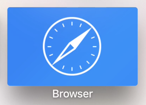 tvOS Web Browser Apple TV
