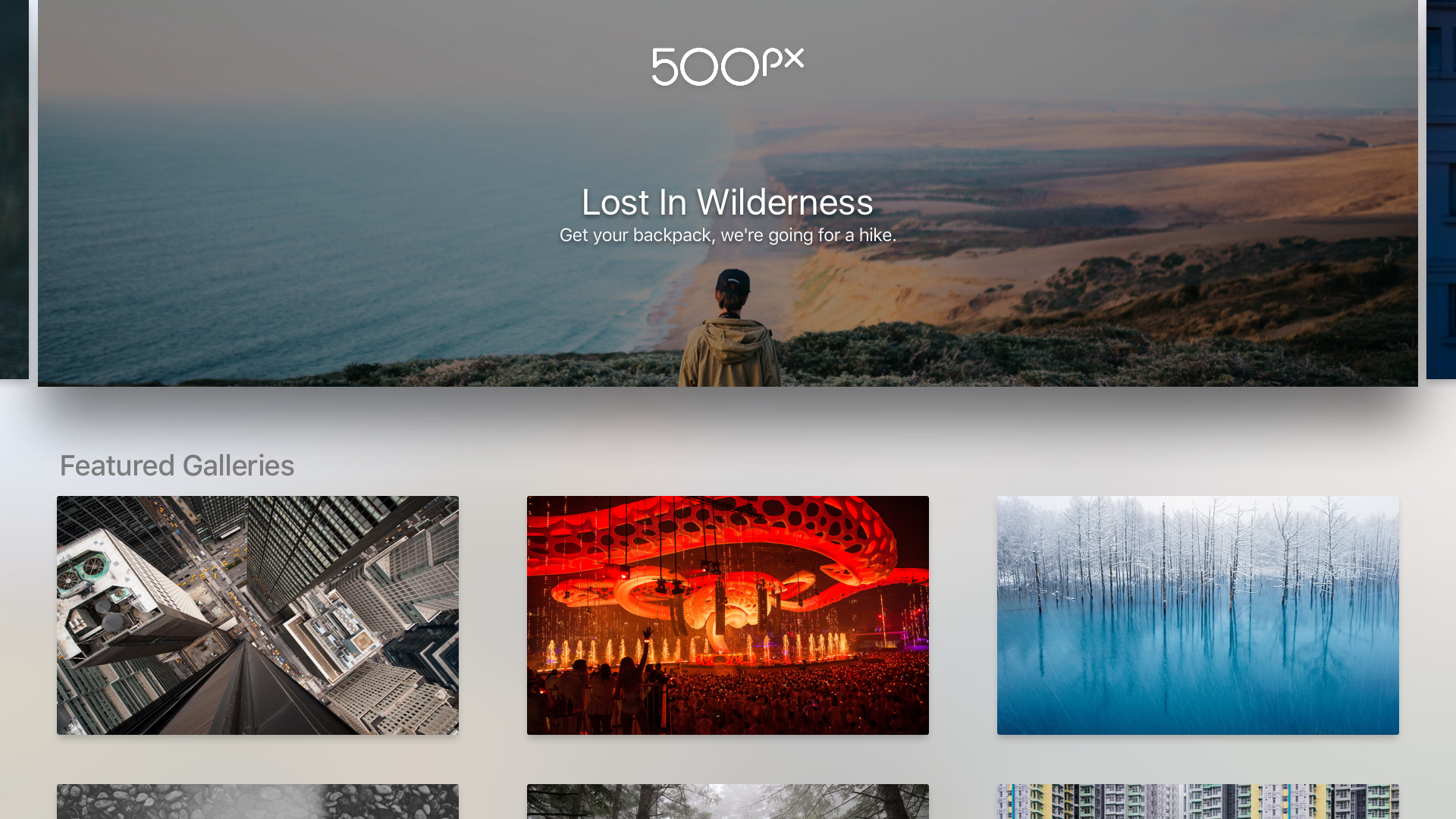 500px Apple TV