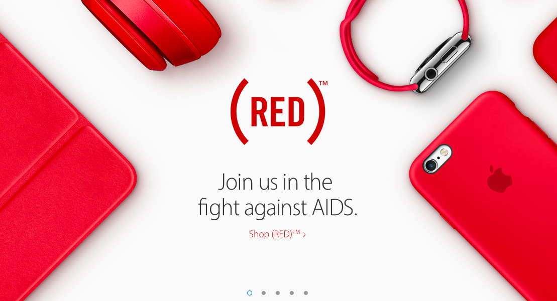 Apple 2015 World AIDS Day web screenshot 001