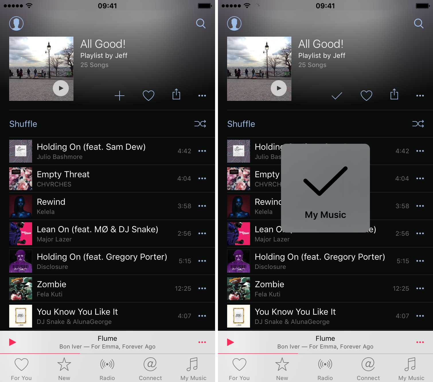 How to share Apple Music playlists