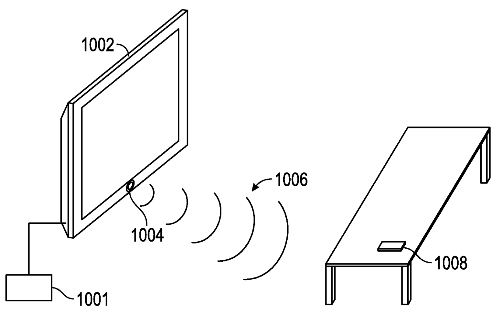 Apple TV patent presence drawing 001