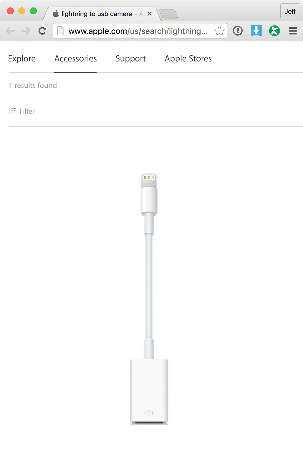 Apple USB Lightning Search Results