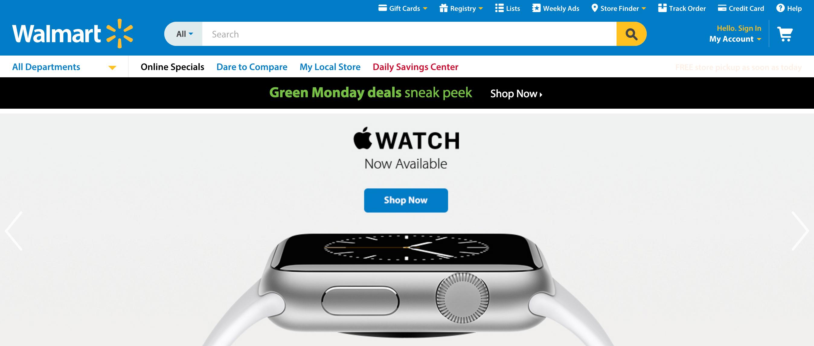 Apple Watch Walmart