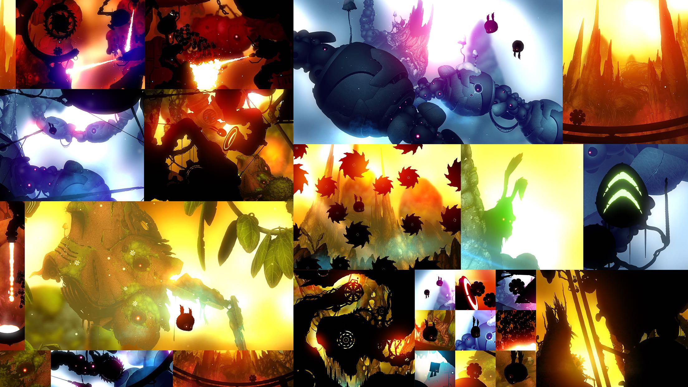 Badland 2 for iOS iPad screenshot 004
