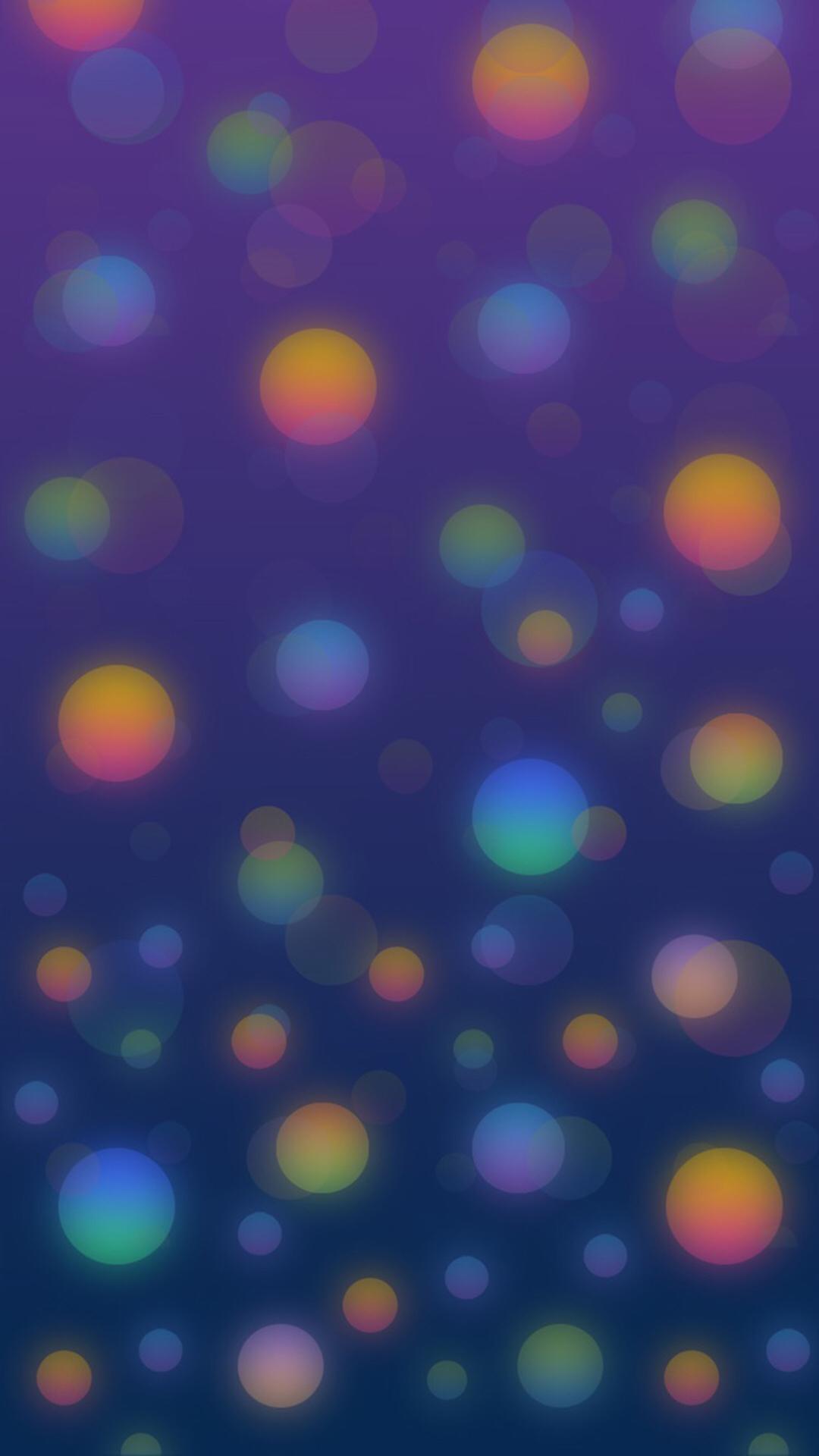 Christmas Balls v2 iPhone Wallpaper AR7