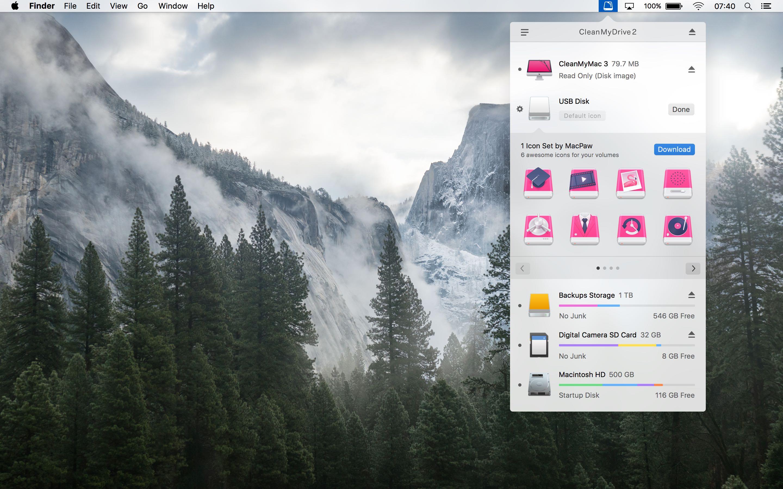CleanMyDrive 2 for OS X Mac screenshot 004