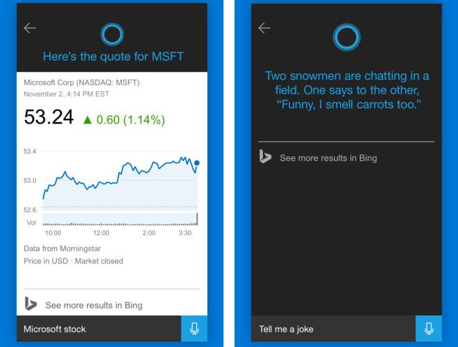 Captura de pantalla 002 de Cortana 1.2.1 para iOS iPhone