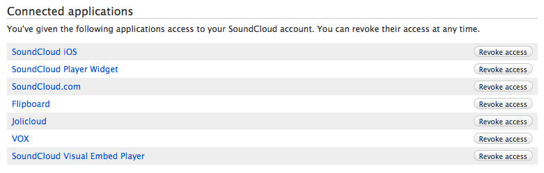 Delete SoundCloud account web screenshot 005