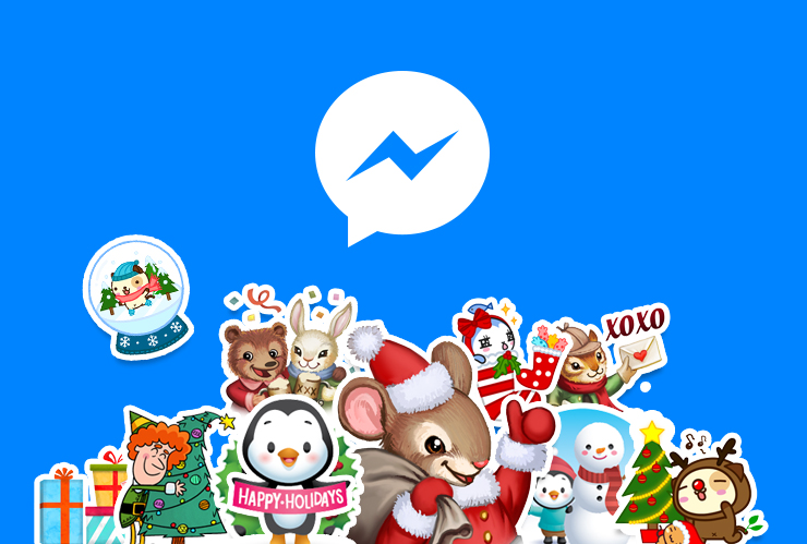 Facebook Messenger holiday 2015 update teaser 001