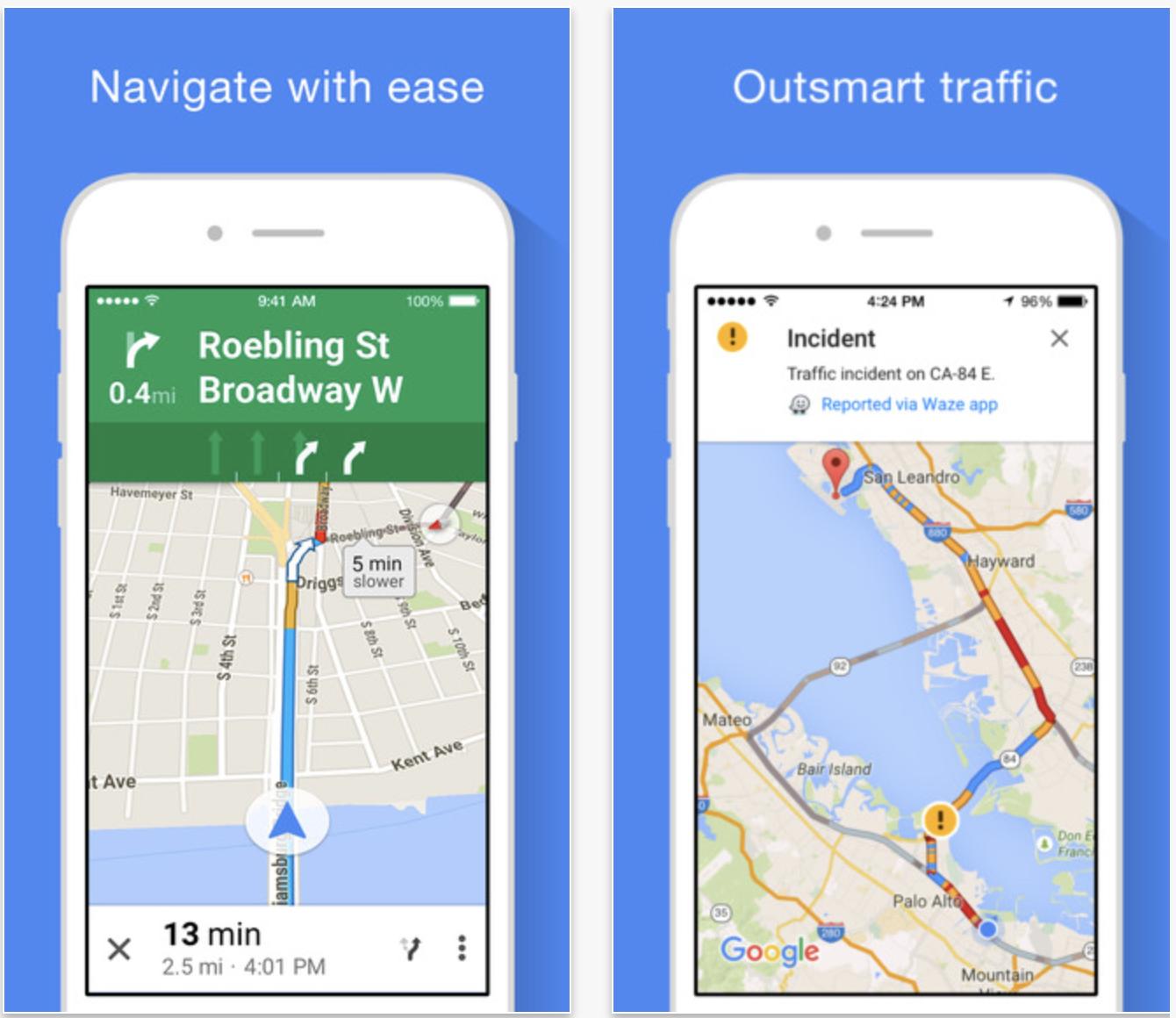 mapas de Google