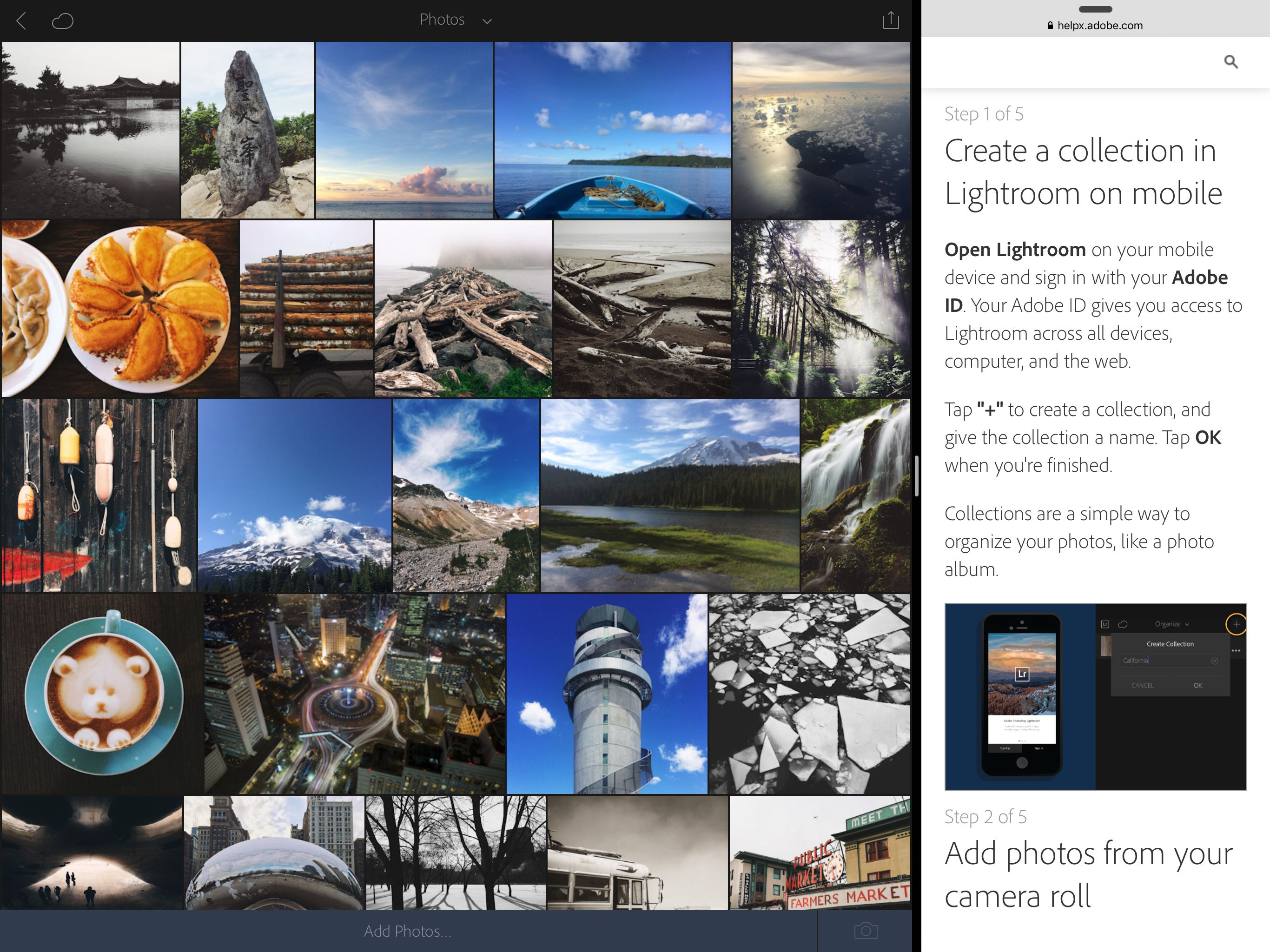 Lightroom for iOS gains iPad Pro & 3D Touch support, camera