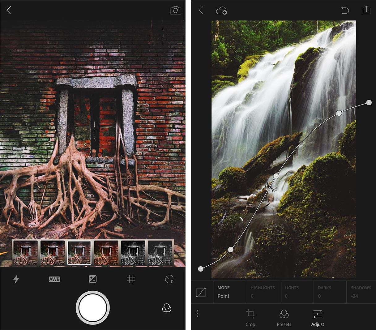 Lightroom 2.1 for iOS iPhone screenshot 001