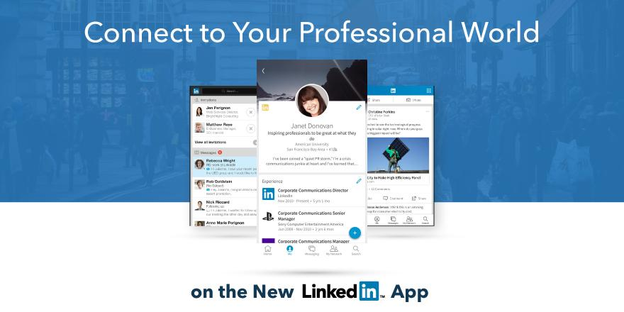 LinkedIn 9.0 for iOS teaser 001