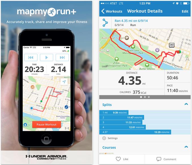 Map My Run+