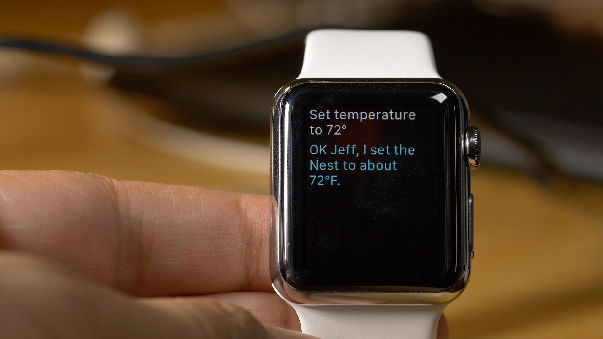 Nest HomeKit Siri Control