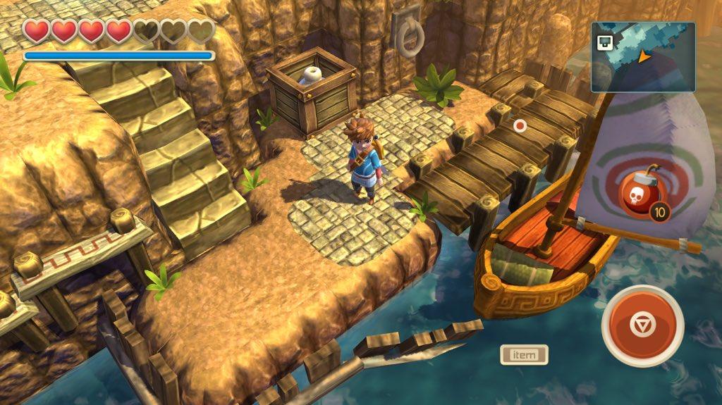 Oceanhorn for Apple TV tvOS screenshot 001