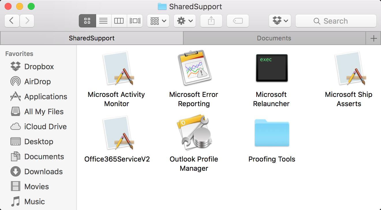 Administrador de perfiles de Outlook