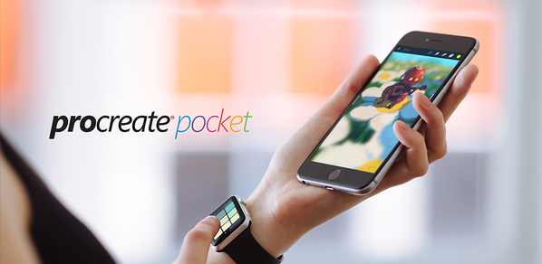 Proreate Pocket 1.6 para iOS 3D Touch teaser 00