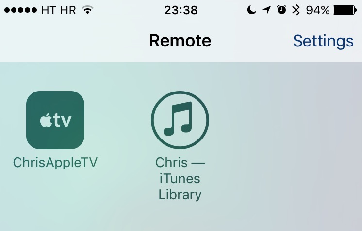 Remote app pairing Apple TV iPhone screenshot 006
