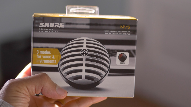 Shure MV5 box