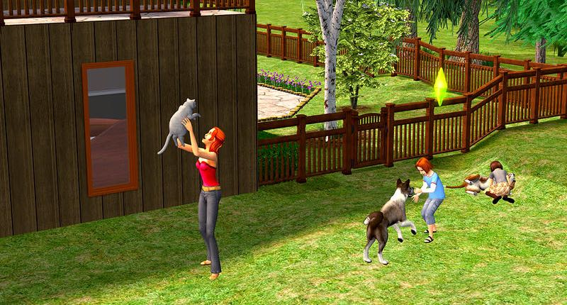 Sims 2 Pet Stories for OS X Mac screenshot 001