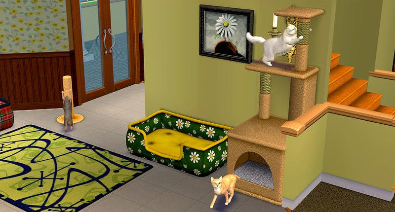 Sims 2 Pet Stories for OS X Mac screenshot 002